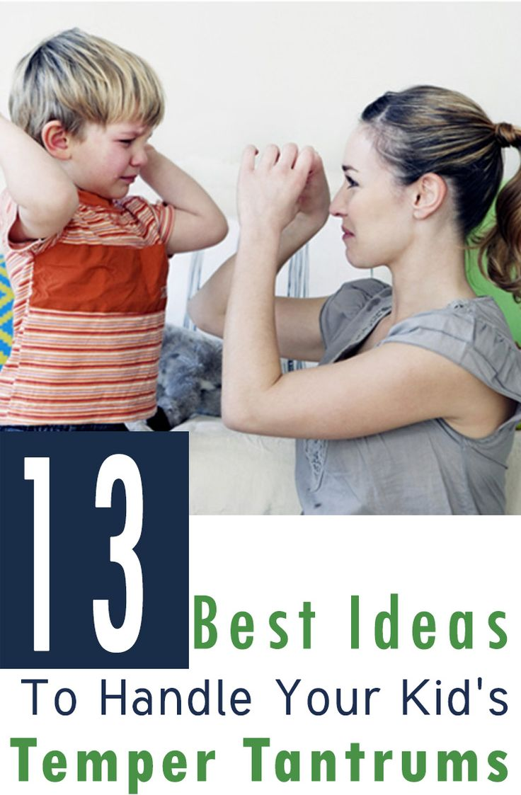 Having a tough time to stop your child's outbursts? If you want to know how to deal with & manage kids temper tantrums, here are 13 best ideas for outbursts