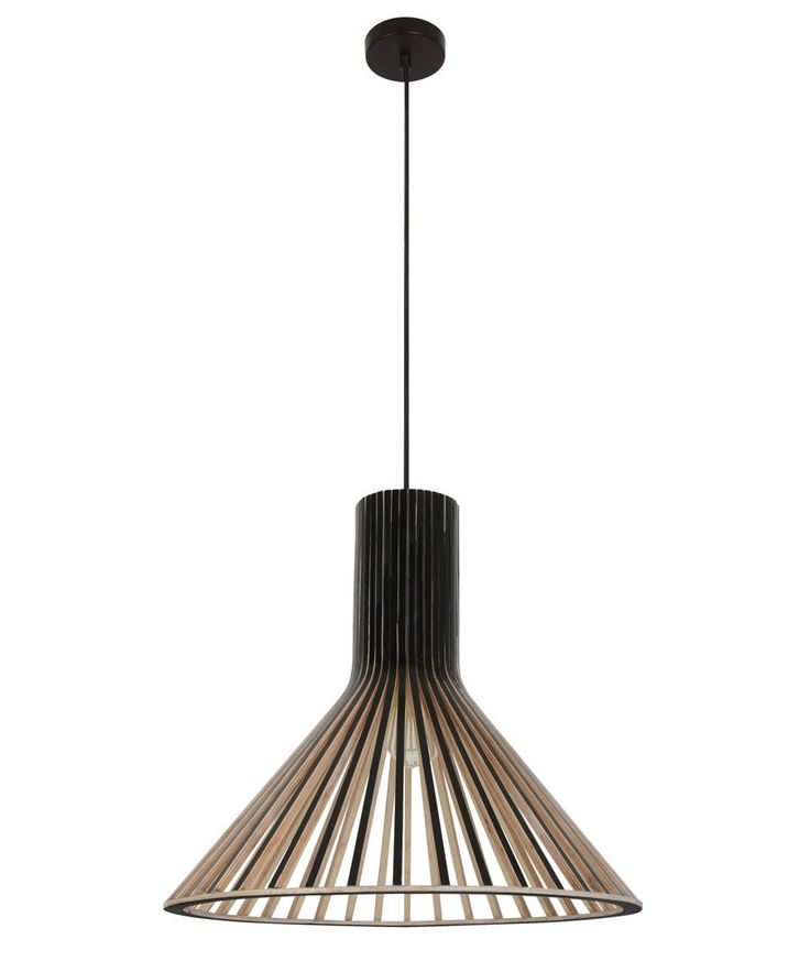 Alrik 1 Light Coolie Pendant in Black | Pendant Lights | Lighting For the dining/lounge room