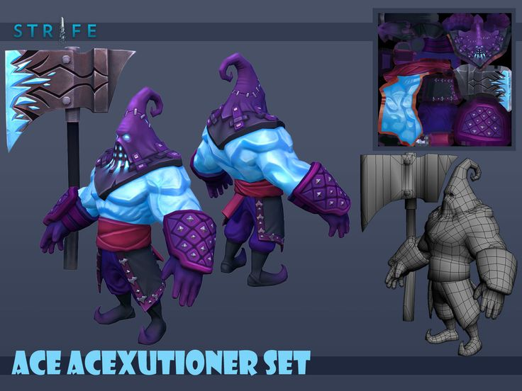Ace Executioner Set, Romel Revollo on ArtStation at https://www.artstation.com/artwork/ace-acexcutioner-set