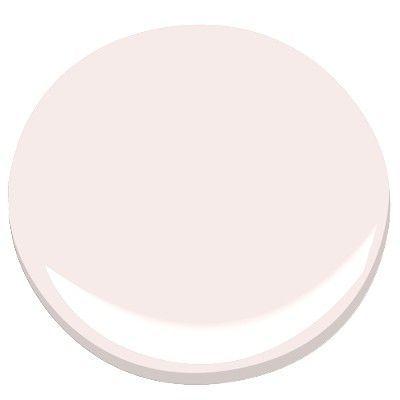 Benjamin Moore Pink Bliss paint color #benjaminmoore #pink