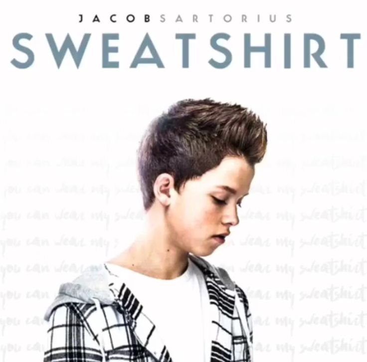"My first single ""Sweatshirt"" comes out May 3rd or you can pre-order it now!"