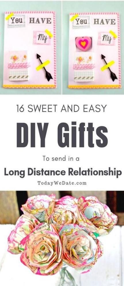 Gifts For Boyfriend Long Distance Diy Valentines 42 Ideas For 2019