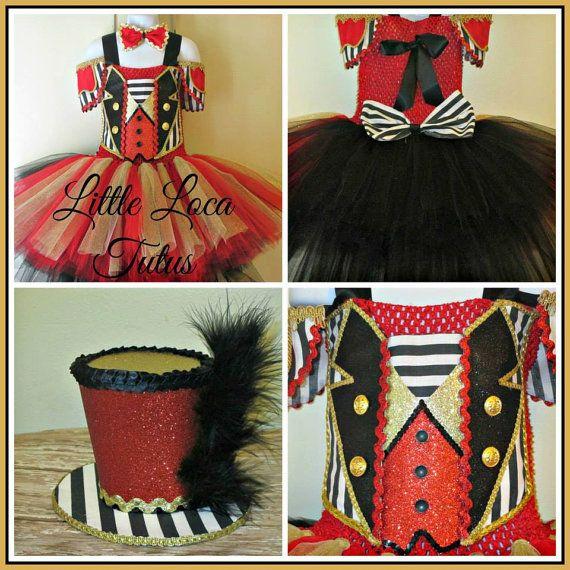 Circus Ringmaster costume tutu dress Birthday by LittleLocaTutus