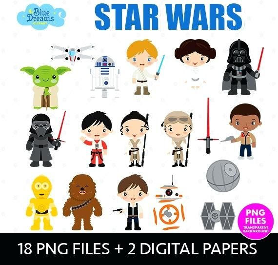 image relating to Star Wars Clip Art Free Printable called printable star wars clip artwork offer data files electronic papers