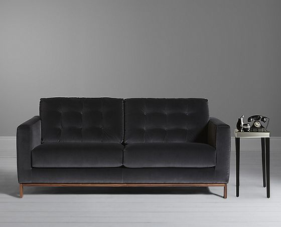 Cool Dark Gray Velvet Sofa Beautiful 71 Modern Ideas With