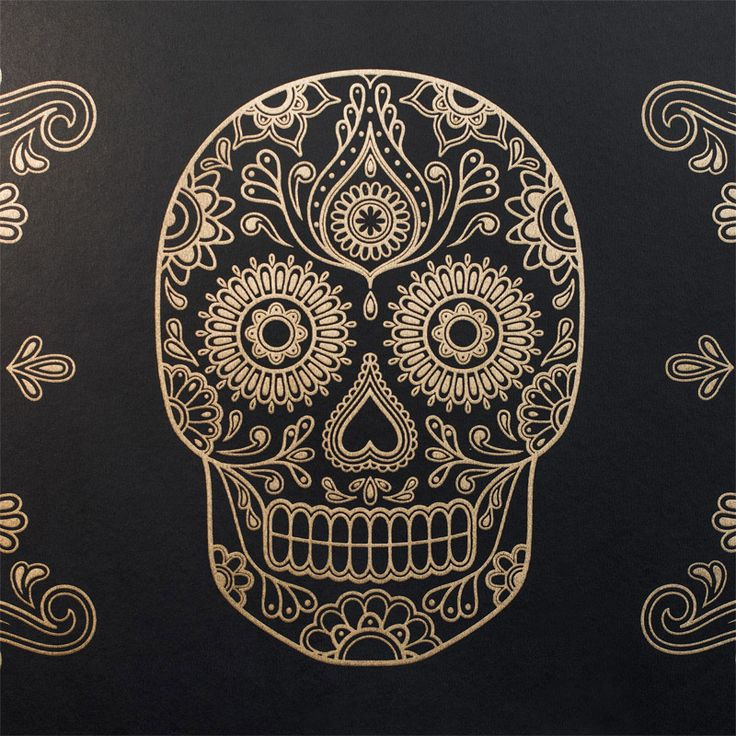 Sugar Skull Wallpaper for when i win millions...