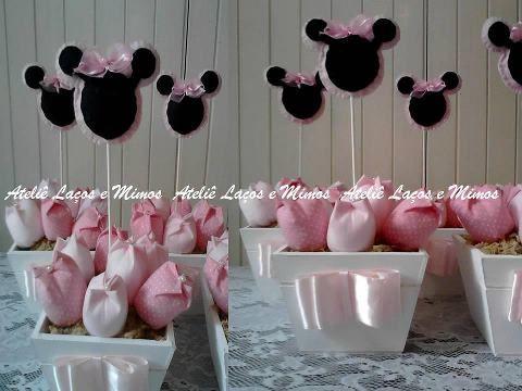 Centro de mesa Minnie | BABY SHOWER | Pinterest