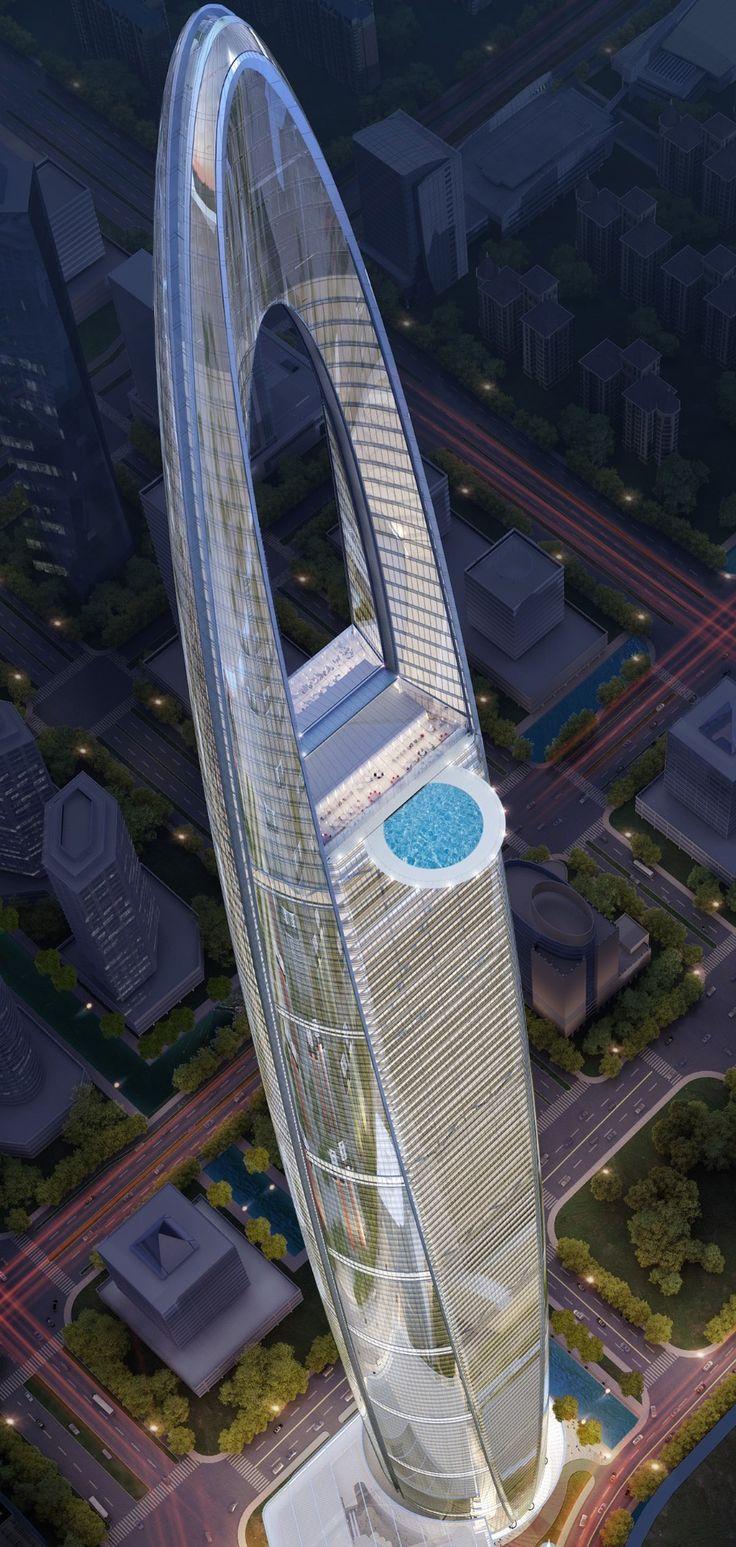 Futuristic Skyscraper, CHINA | Arquitectura y urbanismo, [Future Architecture: http://futuristicnews.com/category/future-architecture/]