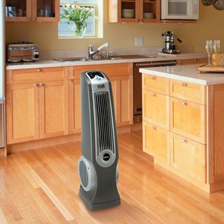 Oscillating High Velocity Fan with Remote Control is Ideal for garages, home gyms, basements, laundry rooms, and kitchens