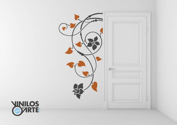 Pasillos, vestíbulos y escaleras de estilo moderno por Vinilos con Arte