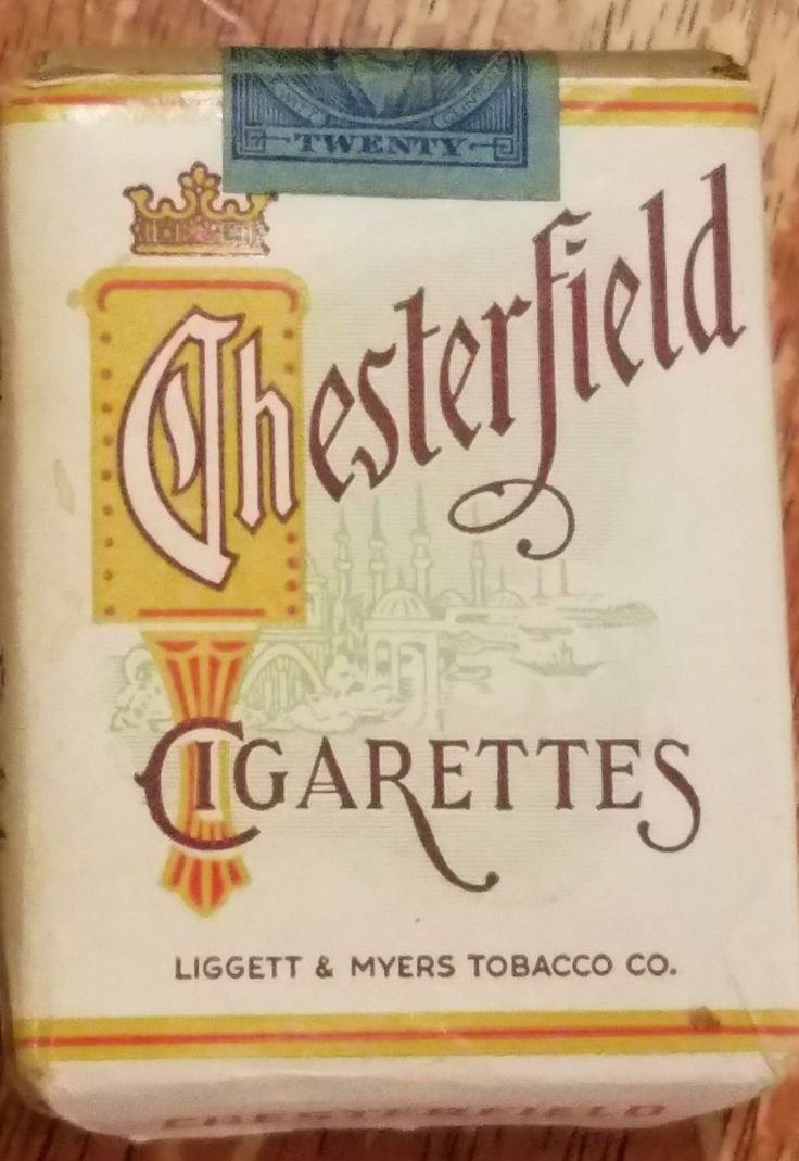 Vintage Chesterfield Cigarettes Full pack original | eBay