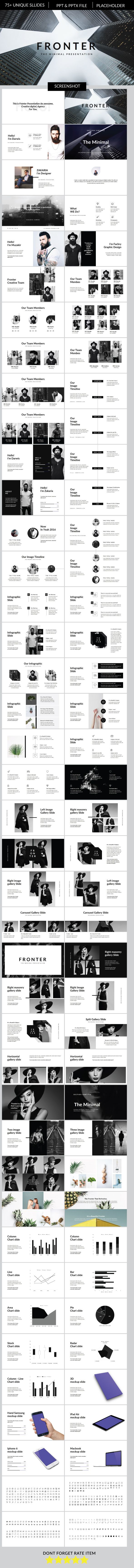 Fronter Multipurpose Presentation Powerpoint Template