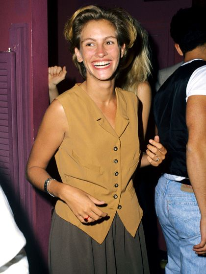 1990: Julia Roberts - Young Guns premiere