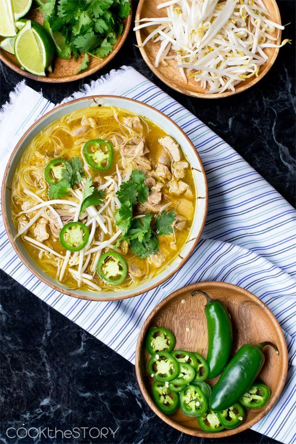 Leftover Turkey Pho Recipe from CookTheStory.com