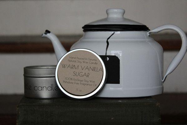 Warm Vanilla Sugar 5 oz EcoSoya Candle