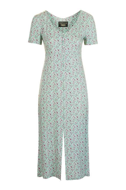 72e Floral Midi Dress by Topshop Finds