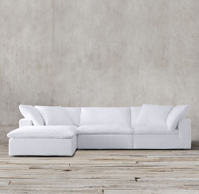 Cloud Modular Sofa Chaise Sectional With Images Modular Sofa Chaise Sofa Living Room White