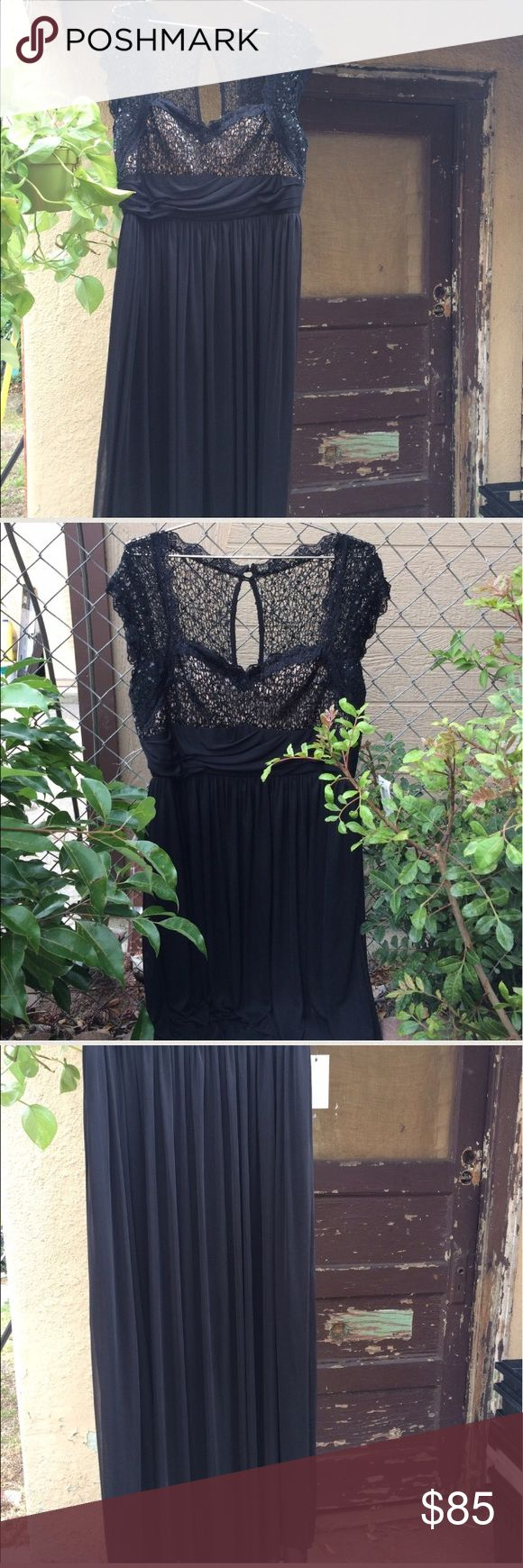 Black plus size formal dress XL brand new I paid $140 for it Dresses Wedding