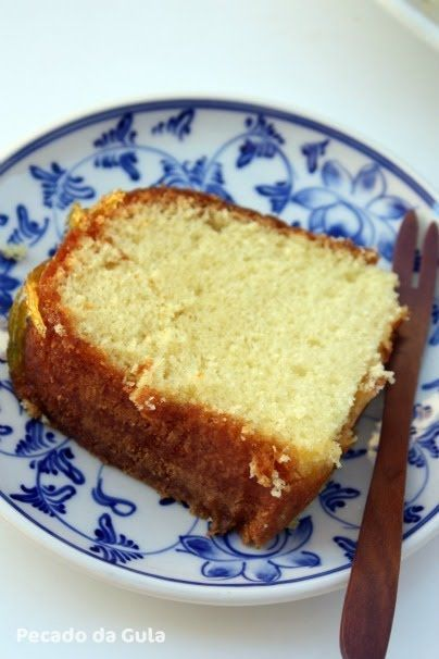 """PECADO DA GULA: """"O"""" bolo de laranja, simples, fofinho e delicioso!"""