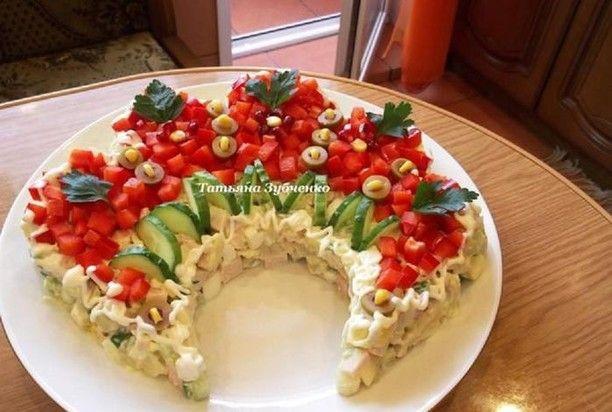салат русская красавица рецепт с фото