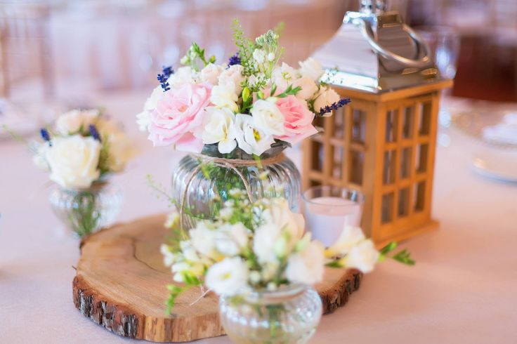 wedding arrangement, flowers, lantern