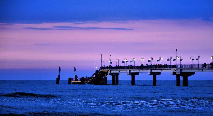 Pier, Międzyzdroje, Poland.