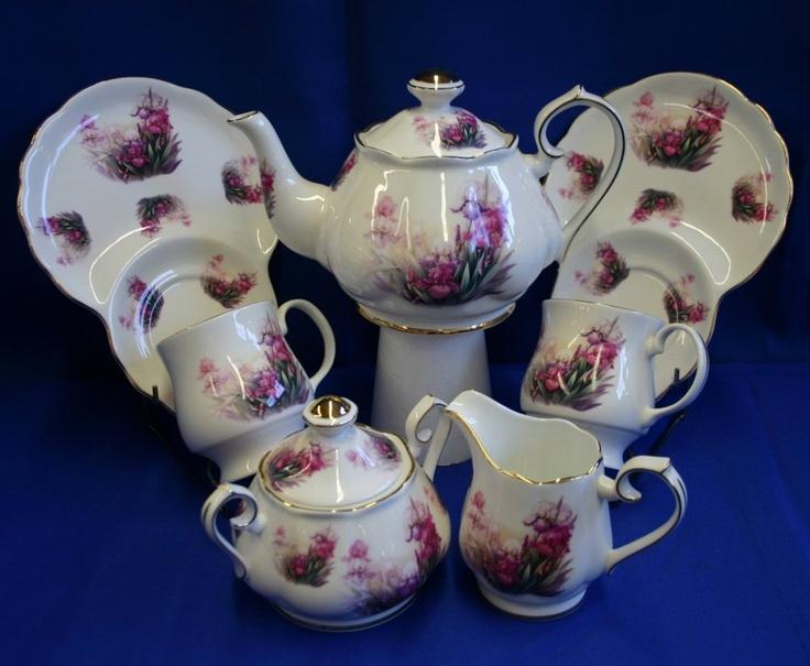 baroque tea set