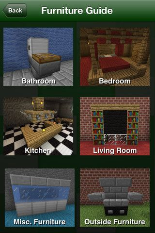 minecraft furniture for when you want to bling up your minecraft house