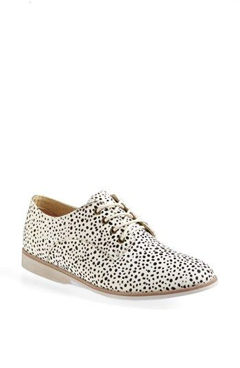 Ooh, they appeal to my love of spots. Great with a groovy male style pant or suit for femme! Or, a dress or skirt. Rollie Derby Oxford available at #Nordstrom