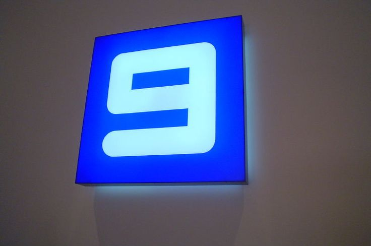Cunneen Signs- Channel 9; Illuminated light box
