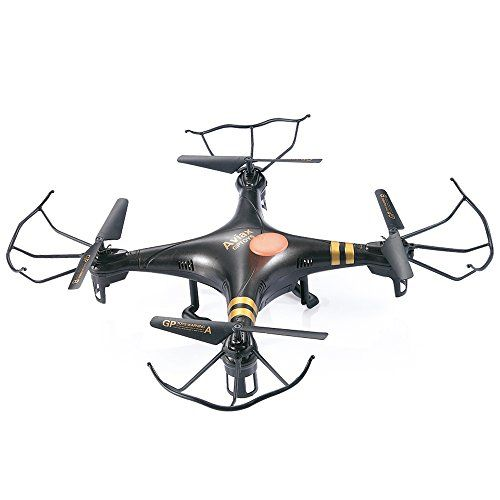 GPTOYS Aviax Quadcopter 6-Axis 2.4GHz RC Drone helicóptero con 3D Flip / Headless Mode / 2MP HD Cámara / LED Lights / 4G SD Card / SD Card Reader - http://www.midronepro.com/producto/gptoys-aviax-quadcopter-6-axis-2-4ghz-rc-drone-helicoptero-con-3d-flip-headless-mode-2mp-hd-camara-led-lights-4g-sd-card-sd-card-reader/