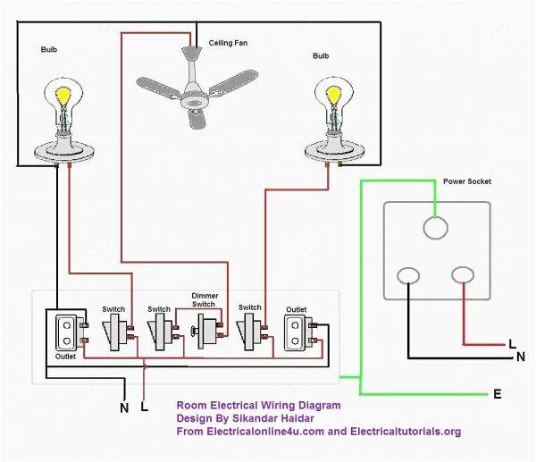 simple house wiring diagram  ez 110v wiring diagram  vww