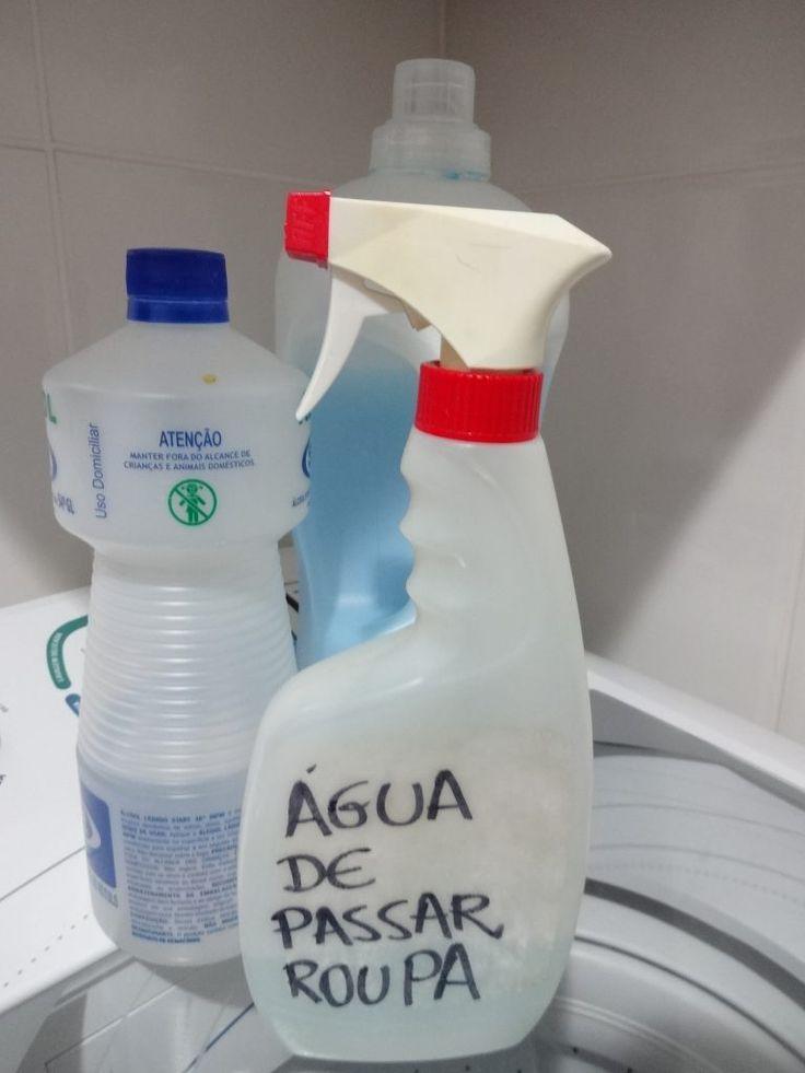 ÁGUA DE PASSAR ROUPA