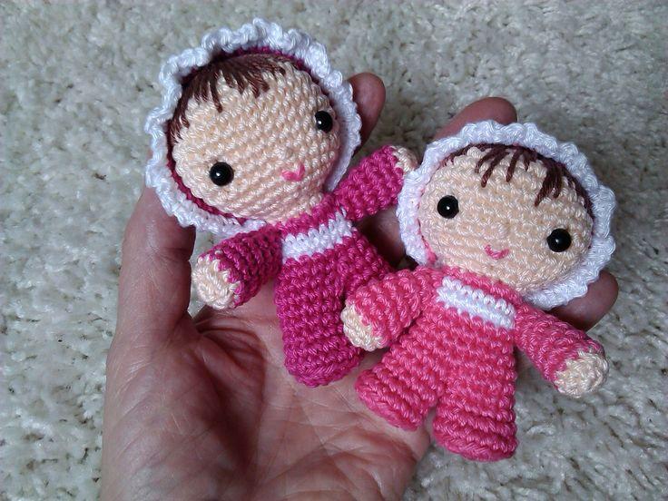 Crochet baby by Libuše-Libby