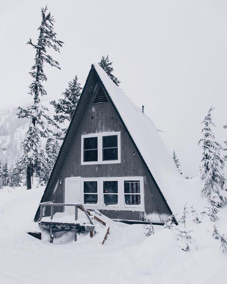 51 best A FRAME CABINS images on Pinterest | A frame cabin, Log home ...