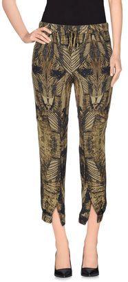 HAUTE HIPPIE Casual pants - Shop for women's Pants - Military green Pants