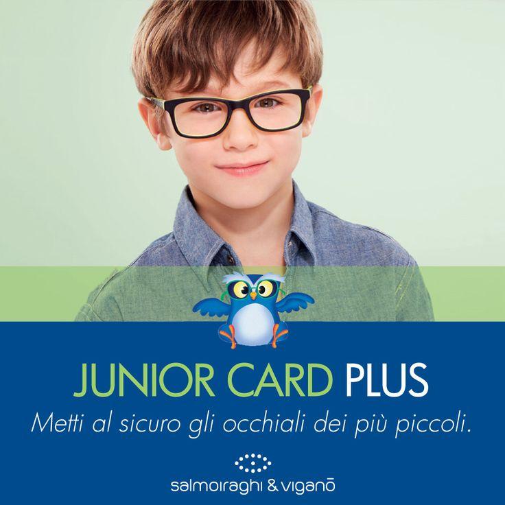 Ti presentiamo la Junior Card e la Junior Card Plus, garanzie a misura di bambino riguardanti la rottura o il danneggiamento accidentale della montatura e/o delle lenti oftalmiche degli occhiali. Maggiori informazioni in negozio.  #salmoiraghievigano #guardiamooltre #vedercibene #occhisani #lenti #lens #vista #salute #safetycard #bambini #children