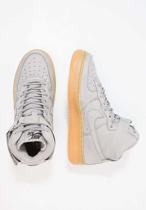 best website 81f8d 744e8 Köp Nike Sportswear AIR FORCE 1 HIGH WB (GS) - Höga sneakers - medium greyblack  för 899,00 kr (2017-12-26) fraktfritt på Zalando.se