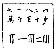 Chinese numerals - Wikipedia, the free encyclopedia. rod numeral place value from Yongle Encyclopedia