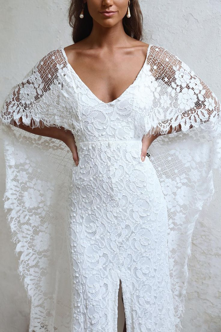 O vestido de noiva mais lindo do mundo » Dalila em Fúria | Renda francesa e estilo boho romântico. Perfeito para o casamento na praia dos meus sonhos! Verdelle 2.0 by Grace Loves Lace