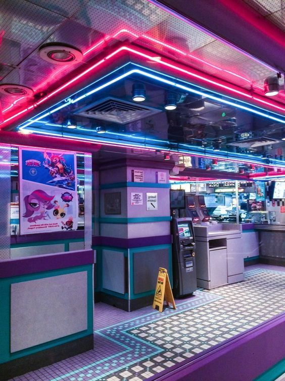 Vaporwave Room: Sleazeburger in Paradise: | Neon aesthetic ...