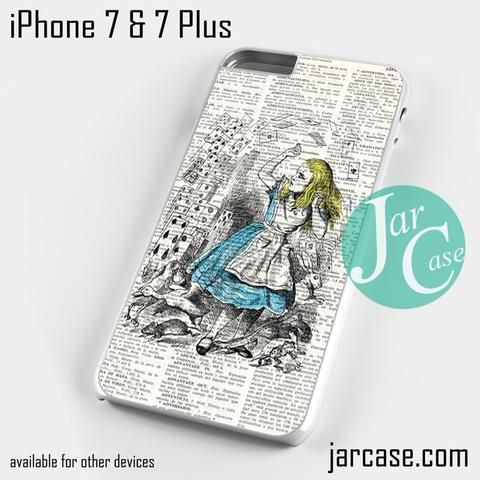 vintage book alice Phone case for iPhone 7 and 7 Plus