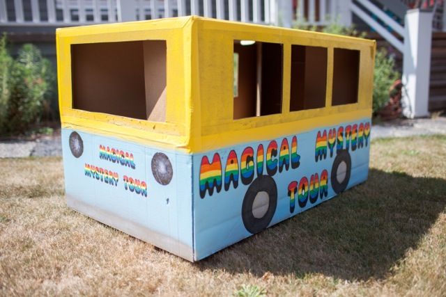 A Beatles Magical Mystery Tour 1st Birthday Party: mini Magical Mystery Tour bus! Event by Everybody's Invited Events