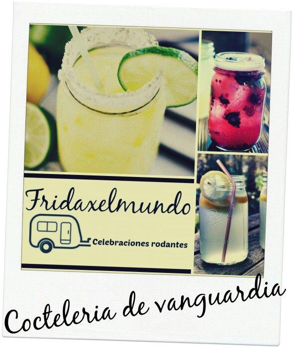 Cristaleria super original para los cocteles de autor que servimos en Fridaxelmundo Celebraciones rodantes