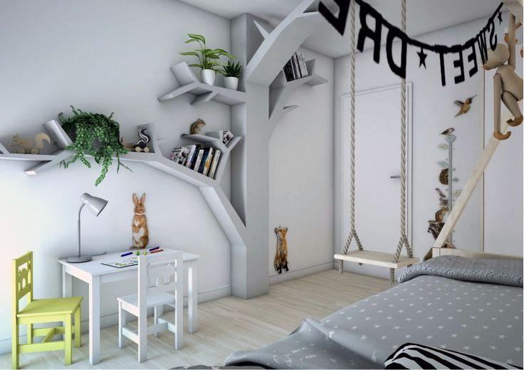 Scandinavische stijl en dieren_3D impressie1