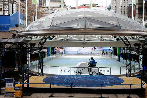 Ice Skating at Robson Square | Free