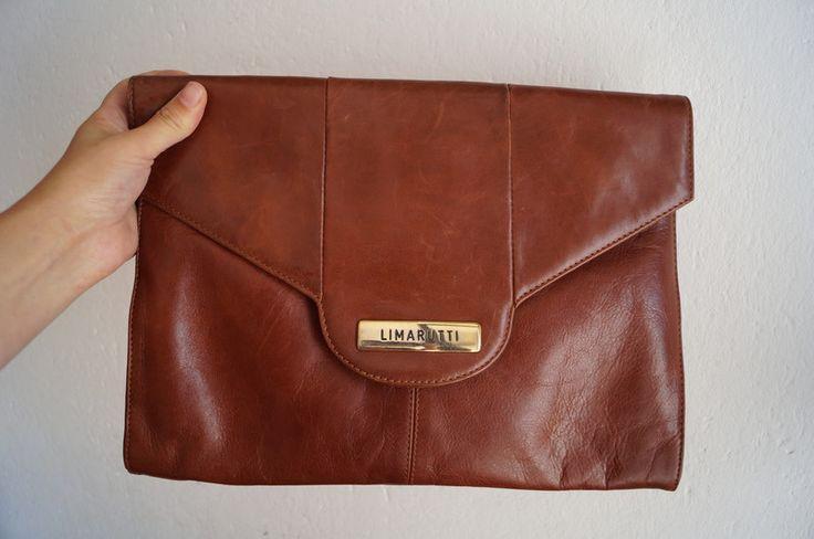 Vintage Clutches - Vintage Kuvert Tasche Limarutti - ein Designerstück von Fr_T bei DaWanda