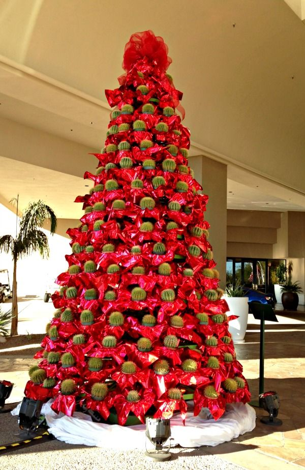 Golden Barrel Cactus Christmas Tree is now known around ...