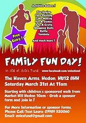 Family Fun Day for Avie's Fund