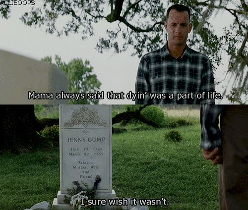 This scene has the ability to make you cry EVERY TIME.   Community Post: 33 Reasons Why Forrest Gump Is Actually Really, Really Good